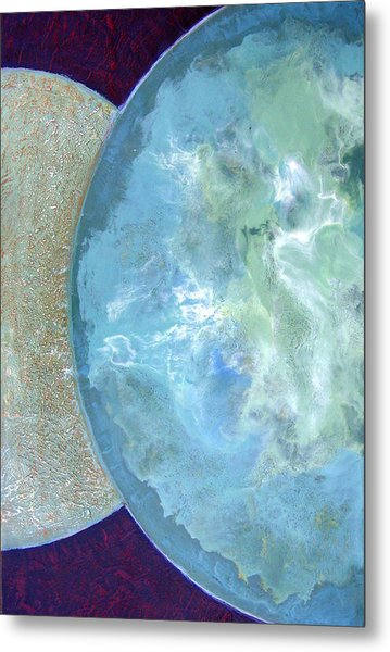Pleiades Meditation Metal Print by Carolyn Goodridge