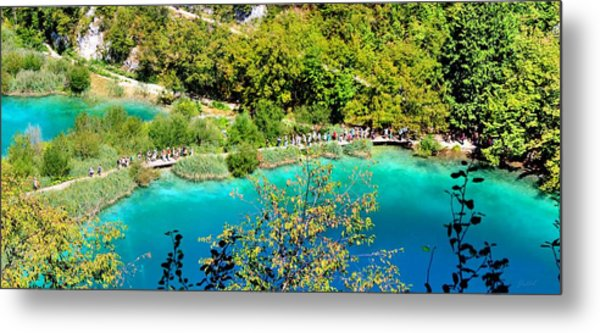 Plitvice Lakes Croatia Metal Print