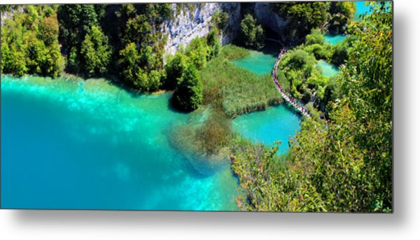 Plitvice Lakes National Park Metal Print