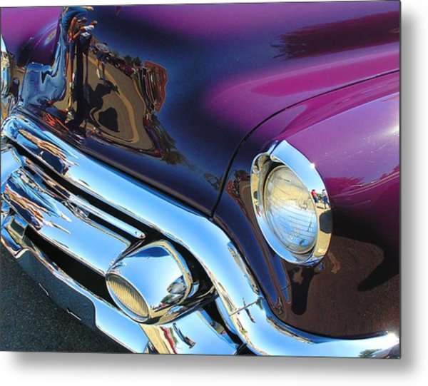 Plum Beautiful Metal Print