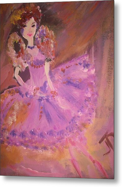 Plum Fairy Metal Print