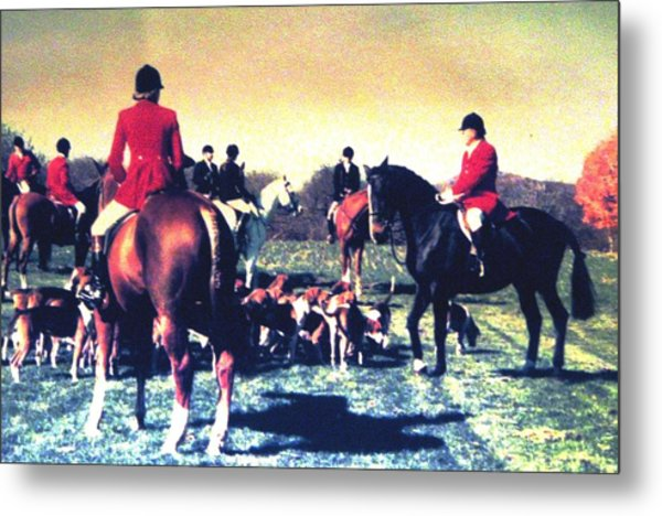 Plum Run Hunt Opening Day Metal Print
