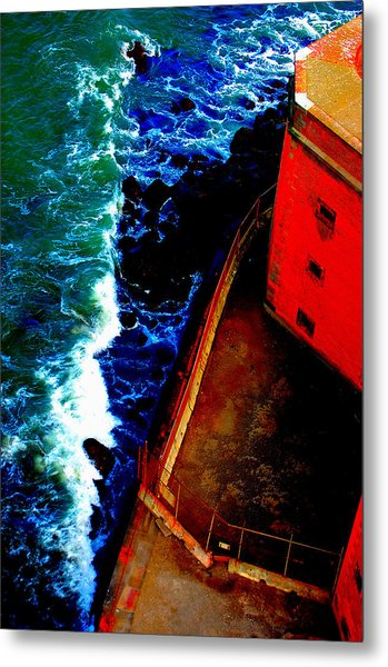 Plunging From Golden Gate Metal Print