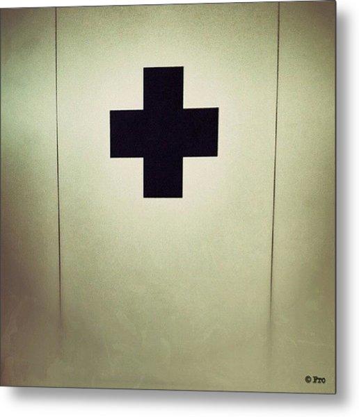 Plus #art #fro #cross #plus #artgram Metal Print