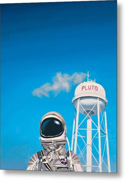 Pluto Metal Print