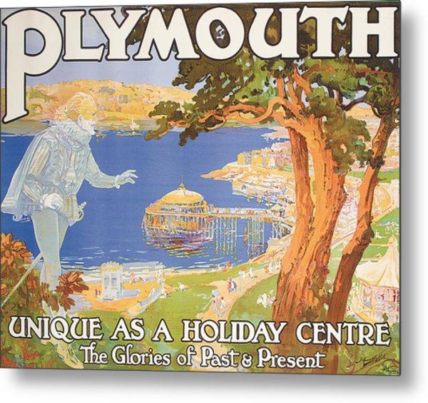 Plymouth Metal Print