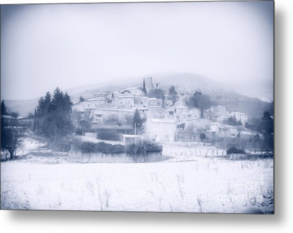 Poet-laval In Snow  Metal Print