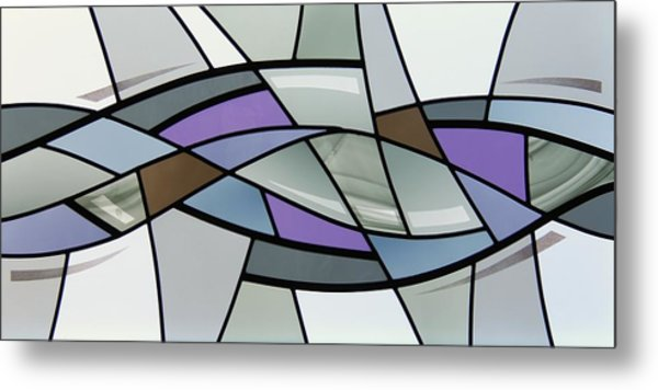 Point Grey Abstract Metal Print