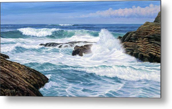 Point Lobos Metal Print by Paul Krapf