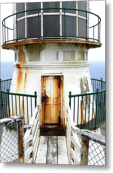 Point Reyes Historic Lighthouse Metal Print