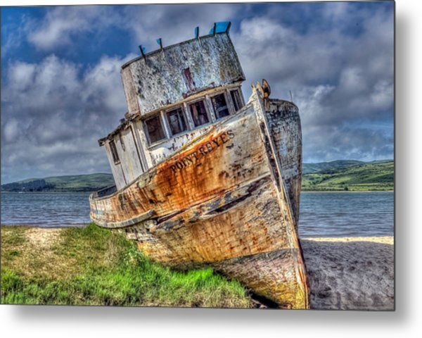 Point Reyes Metal Print