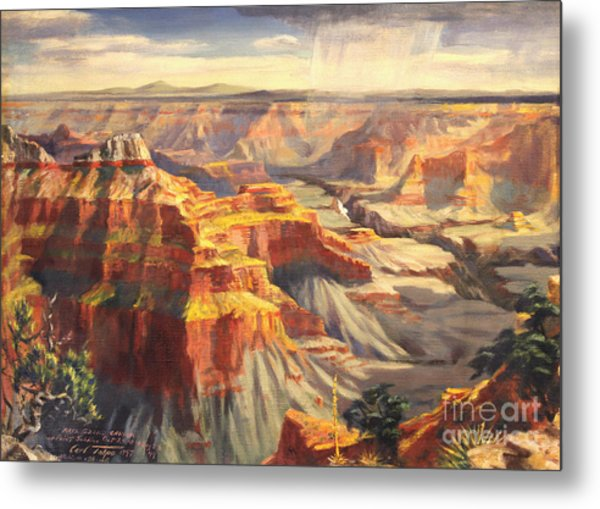 Point Sublime - Grand Canyon Az. Metal Print