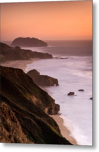 Point Sur Lighthouse Metal Print