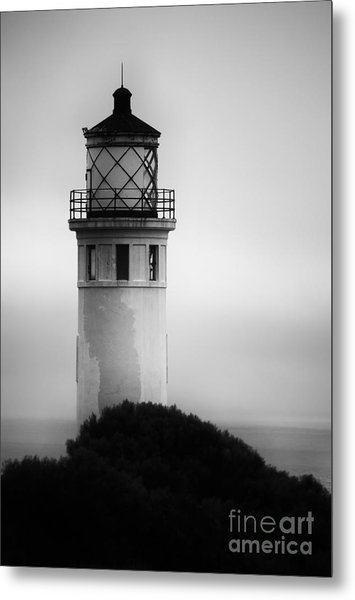 Pointe Vincente Lighthouse Metal Print