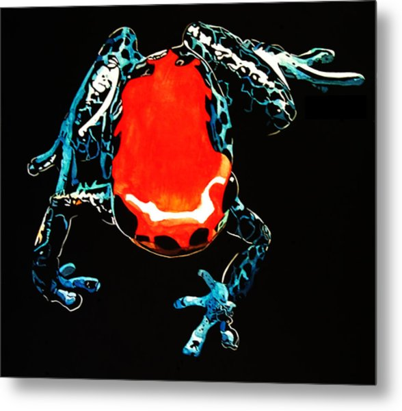 Poison Dart Frog Metal Print by Mike Durco