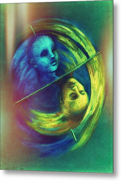 Polar Shift Number Three Metal Print