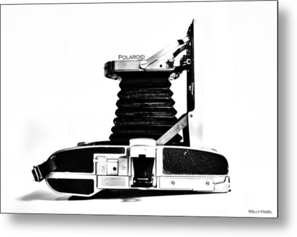 Polaroid Land Camera 95b 2 Metal Print