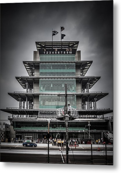 Pole Day At The Indy 500 Metal Print