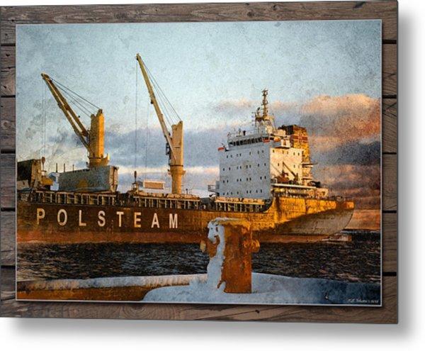 Polsteam Metal Print