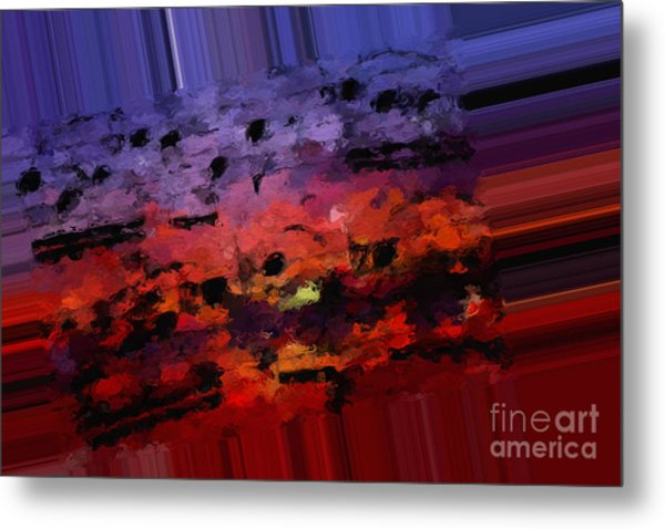 Polychromatic Postlude 4 Metal Print