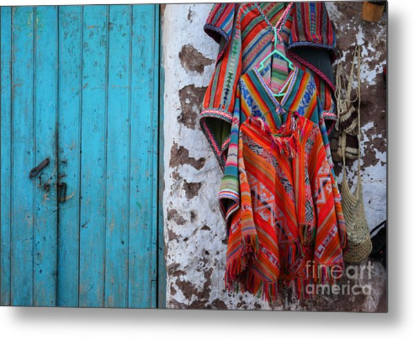 Ponchos For Sale Metal Print