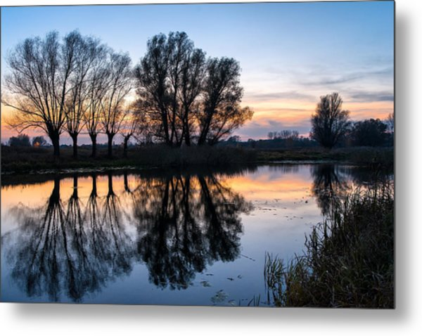 Ponds In Lomna 2 Metal Print
