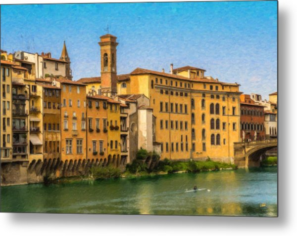 Ponte Vecchio Itl3304 Metal Print
