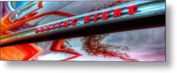 Pontiac Eight 14714 Metal Print