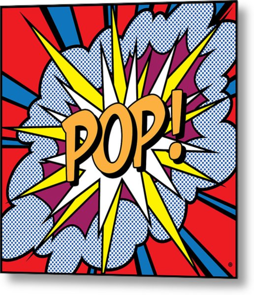 Pop Art Metal Print