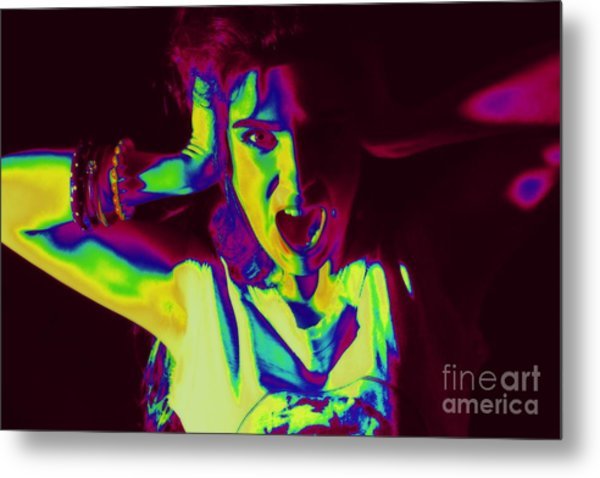 Pop Art Music Metal Print by Arie Arik Chen