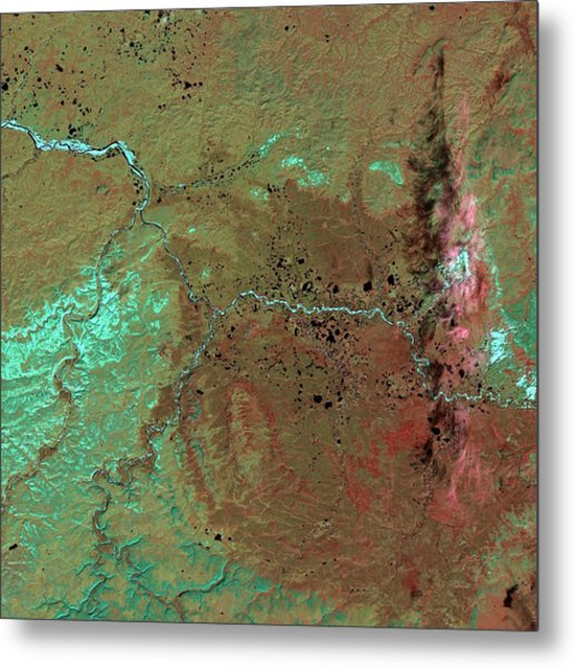 Popigai Crater Metal Print