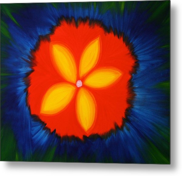 Poppy Place Metal Print
