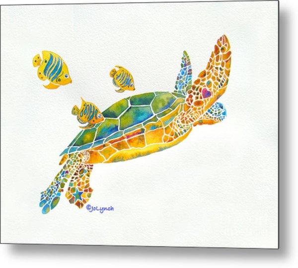 Popular Sea Turtle Metal Print