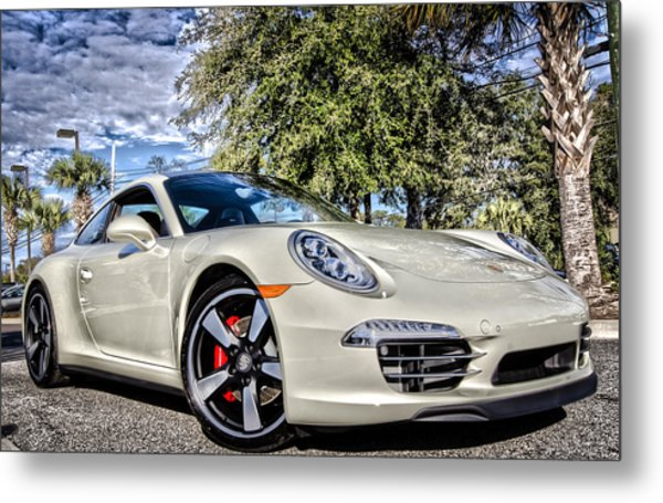 Porsche 50th Anniversary Limited Edition Metal Print