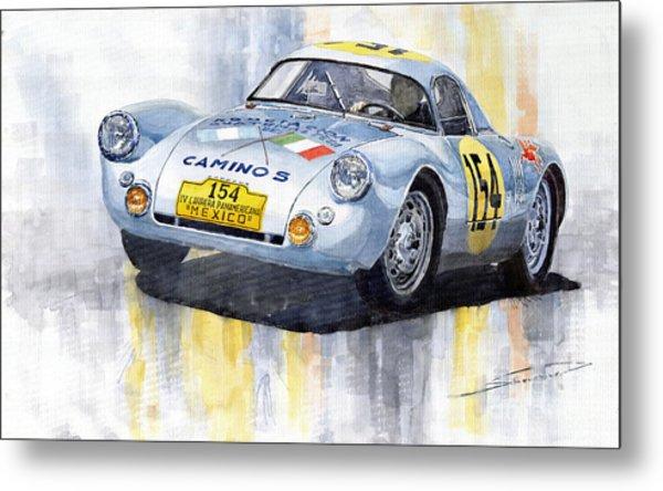 Porsche 550 Coupe 154 Carrera Panamericana 1953 Metal Print