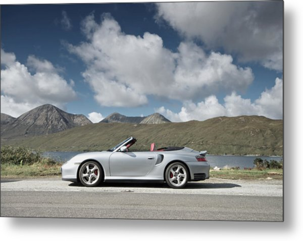 Porsche 911 - 996 Turbo Metal Print