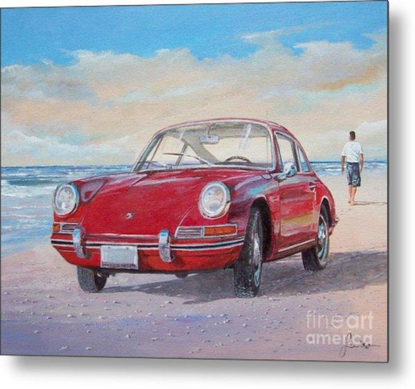 1967 Porsche 912 Metal Print