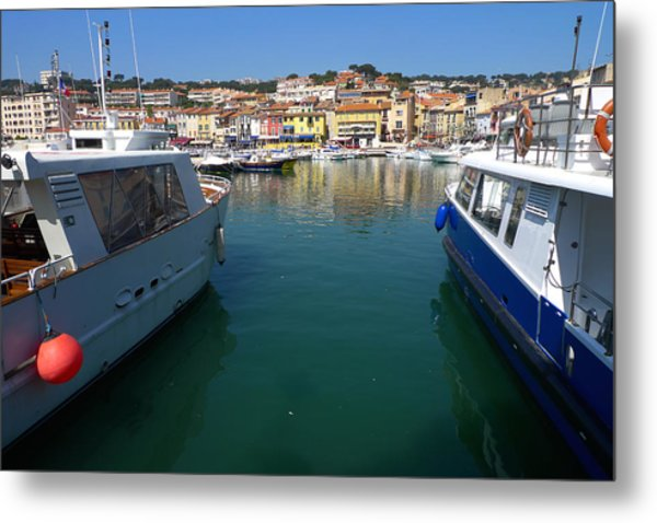 Port De Cassis Metal Print