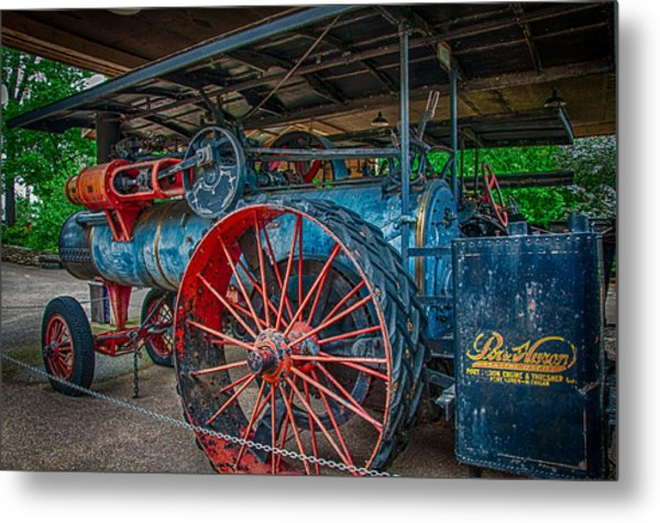 Port Huron Engine And Thresher Machine Metal Print by Gene Sherrill