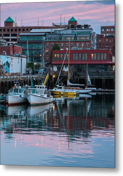 Portland Harbor Metal Print