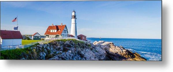 Portland Head Light House Cape Elizabeth Maine Metal Print