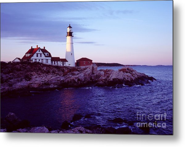 Portland Head Lighthouse Metal Print
