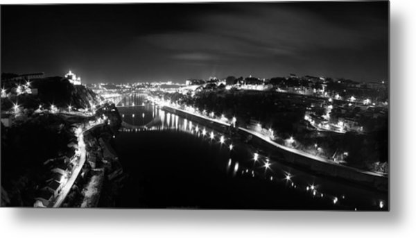 Porto @ Night Metal Print