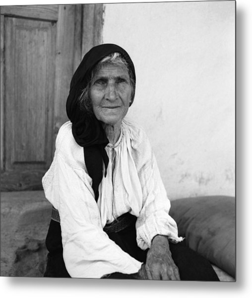 Portrait In Vrancea Romania Metal Print