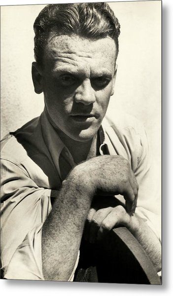 Portrait Of Actor James Cagney Metal Print by Imogen Cunningham