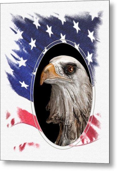 Portrait Of America Metal Print
