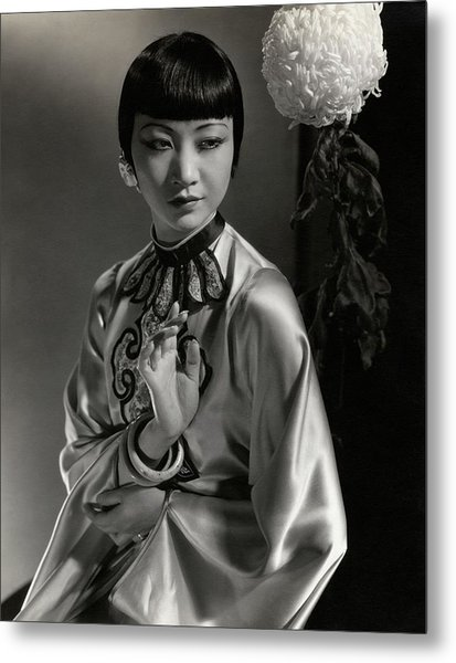 Portrait Of Anna May Wong Metal Print