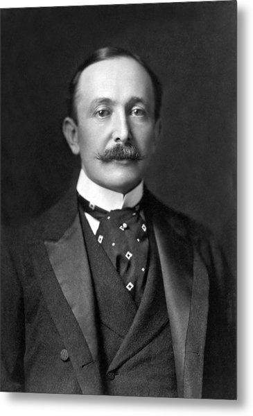 Portrait Of August Belmont Jr. Metal Print