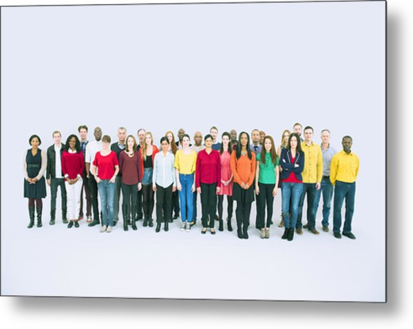 Portrait Of Business People Metal Print by Caiaimage/Robert Daly