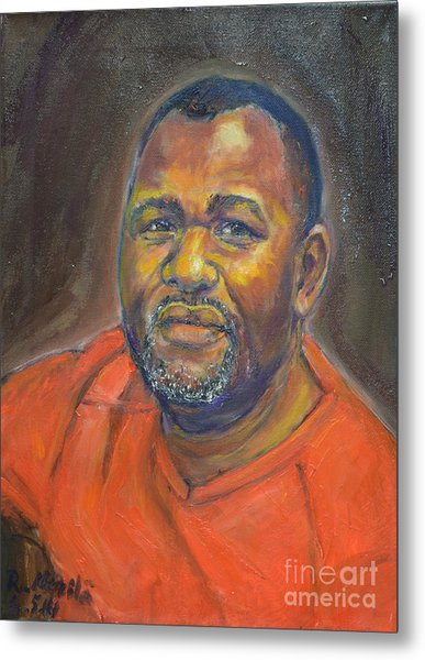 Portrait Of Felly Metal Print